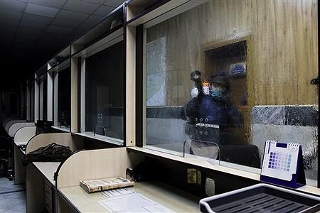 ضدعفونی معابر و اماکن پر تردد منطقه 6 تهران | behroozkhalili