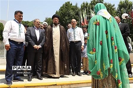 حضور حجتالاسلام سیدحسن خمینی در نهمین دوره اردوی ملی |