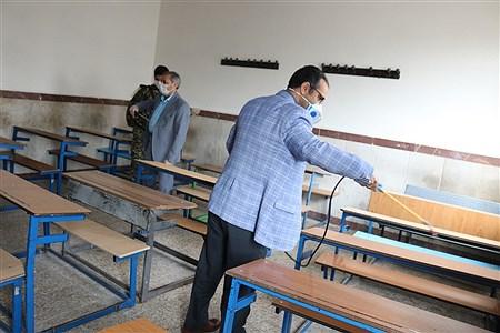 بازدید معاون پرورشی و فرهنگی وزارت آموزش و پرورش از شهر قدس | shayan meydani