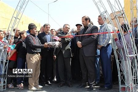 افتتاح پروژه اتصال شهرک امام حسین (ع) به مسکن مهر اسلامشهر |