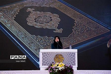 آغاز مرحله نیمه نهایی مسابقات بین المللی قرآن کریم دانش آموزان جهان اسلام در بخش دختران |
