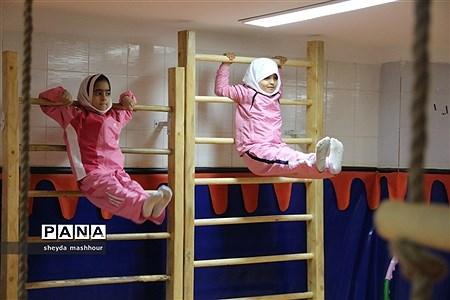 افتتاحیه کلاس درس تربیت بدنی در شهرری |