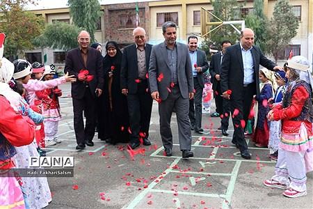 آیین افتتاحیه کلاس درس تربیتبدنی در آموزشگاه علی ابن ابیطالب (ع) کهریزک |