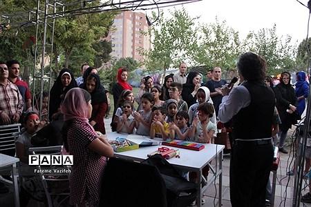 برپایی غرفههای نشاط و شادی کودکان دربوستان شهید ندایی اسلامشهر |
