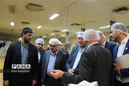 بازدید وزیر صنعت، معدن و تجارت از واحدهای تولیدی و صنعتی اسلامشهر |