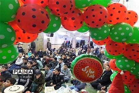 برگزاری محفل شب یلدا با شهدا در شهرری |