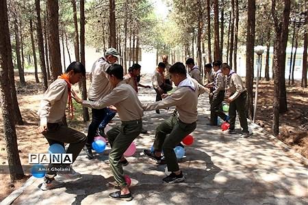 تلاش و تمرین پیشتازان پسر شهرستانهای استان تهران برای حضور موفق در اردوی ملی |