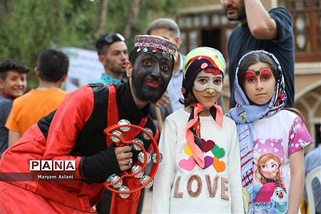 جشنواره آسمان پالیز روستای وفس کمیجان |