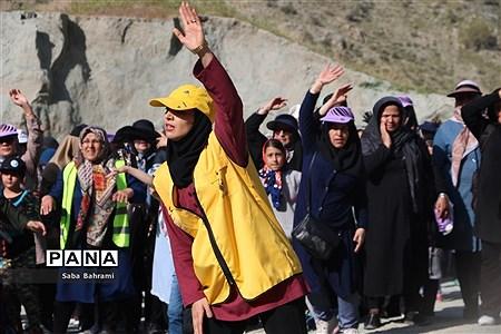 حضور شهروندان شهرقدس در مراسم کوهپیمایی خانوادگی |