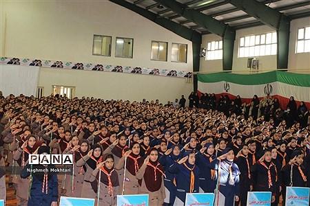مانور تشکیلاتی یاوران انقلاب در شهرستان بهارستان |