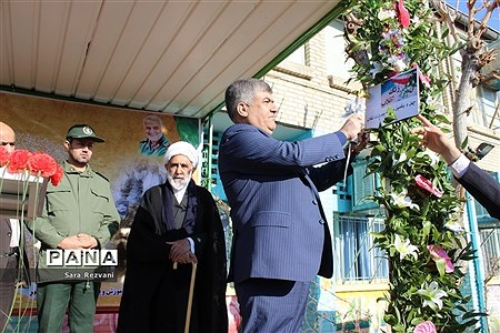 مراسم نواخته شدن زنگ انقلاب اسلامی در شهرستان اسلامشهر |