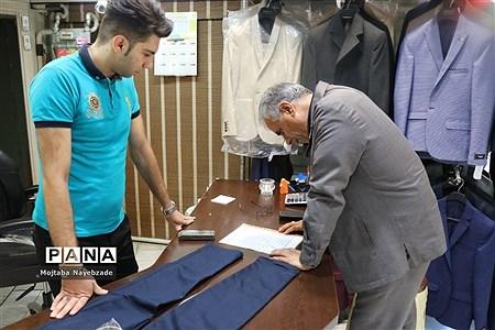بازدید از مراکز توزیع لباس فرم دانش آموزان خراسان رضوی |