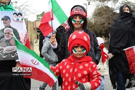 راه پیمایی 22 بهمن در تربت جام |