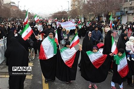 راهپیمایی چهل و یکمین سالگرد پیروزی انقلاب اسلامی. |