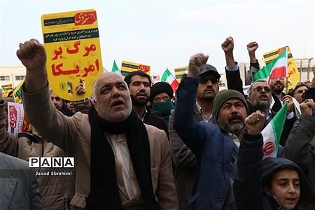 راهپیمایی مردم مشهد در گرامیداشت حماسه 9 دی ماه |