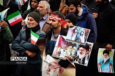راهپیمایی مردم مشهد در محکومیت اقدامات اخیر آشوب طلبان |