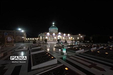 زیارتگاه شهید مدرس در کاشمر |