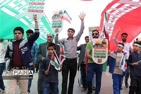 راهپیمایی روز جهانی قدس در مشهد |
