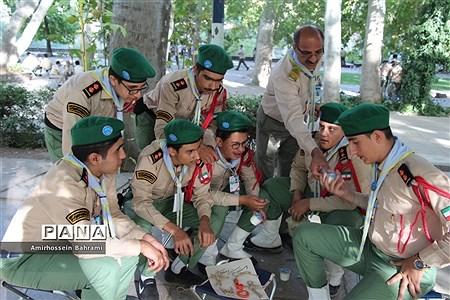 فعالیتهای دانشآموزان پیشتاز در اولین روز از نهمین دوره اردو ملی پیشتازان سراسر کشور |