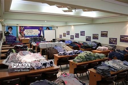 هدایای تولید کنندگان لباس فرم دانش آموزی خراسان رضوی به هموطنان سیل زده سیستان و بلوچستان |