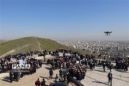 همایش بزرگ کوهپیمایی پیشتازان سازمان دانشآموزی خراسان رضوی |