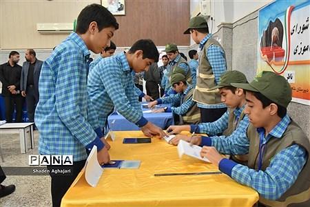 برگزاری انتخابات شوراهای دانشآموزی در شهرستان امیدیه |