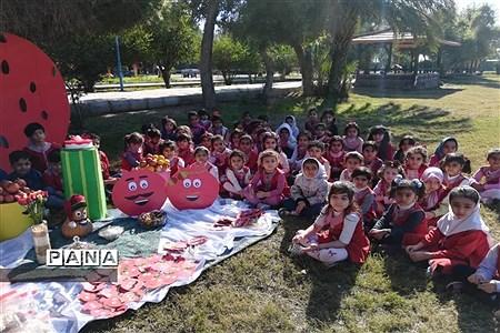 برگزاری جشن شب یلدا پبش دبستانی ساقی کوثرشهرستان شوش |