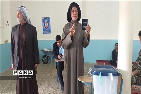 برگزاری یازدهمین دوره انتخابات مجلس شورای اسلامی درشهرستان حمیدیه |