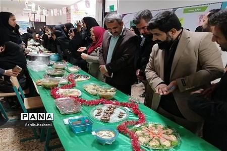 جشنواره صنایع دستی، غذاهای سنتی و دست سازههای علمی دانشآموزی شهرستان آغاجاری |