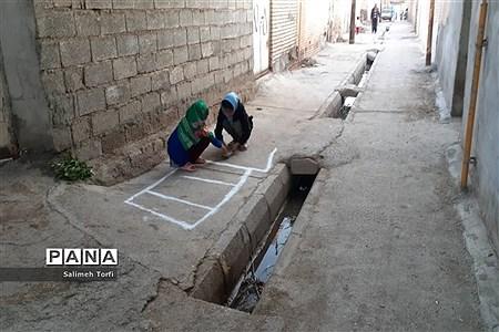 حال وهوای زندگی روستاییان شهرستان حمیدیه درفصل پاییز |