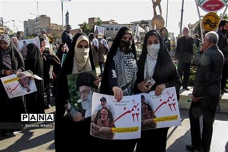 راهپیمایی 22 بهمن در اهواز |