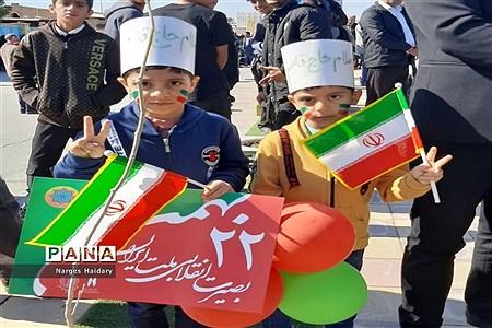 مراسم راهپیمایی باشکوه ۲۲ بهمن در شهرستان امیدیه |