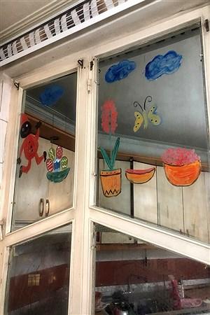 آثارموسسه نمایش وخلاقیت شهرستان امیدیه در زمان قرنطینگی خانگی  