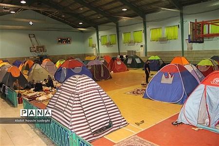 اسکان مسافران نوروزی در مدارس بوشهر |