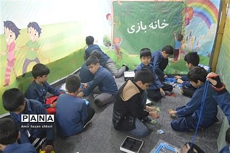 افتتاح خانه بازی دبستان شهید ماهینی بوشهر |