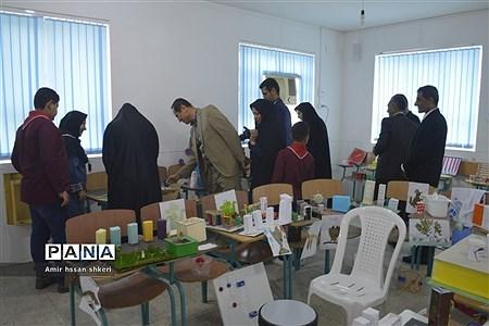 افتتاح نمایشگاه دست ساختههای دانشآموزان دبستان شهید ماهینی بوشهر |