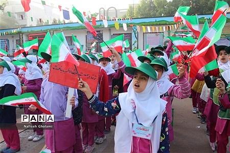 المپیاد ورزشی درون مدرسهای دبستان بنت الهدی شهرستان بوشهر |