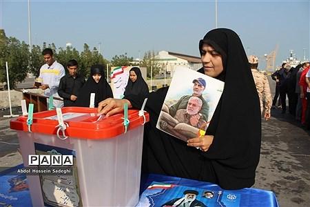 دریای وحدت مردم استان بوشهردر انتخابات یازدهمین دوره مجلس شورای اسلامی |