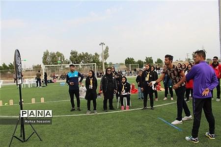 دومین المپیاد ورزش روستایی شهرستان بوشهر در رشته های طناب زنی و دارت برادران |
