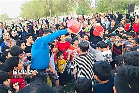 دومین جشنواره آب بازی در پارک والفجر برازجان |