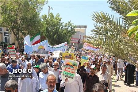 راهپیمایی روز جهانی قدس در بوشهر |