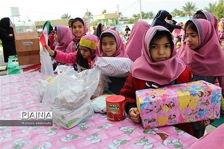 سیل مهربانی در دبستان دخترانه شهید دانشگر سعدآباد |