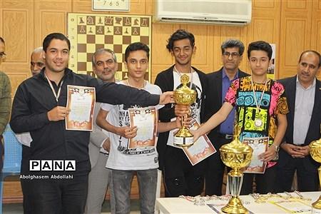 مسابقات شطرنج پسران متوسطه دوم استان بوشهر |