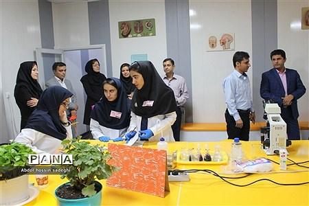 هفدهمین دوره مسابقات آزمایشگاهی آموزش متوسطه نظری استان بوشهر |
