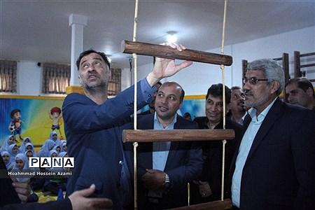 افتتاح دو خانه بازی و نشاط در مدرسه با حضور مدیرکل تربیت بدنی و فعالیتهای ورزشی وزارت آموزش و پرورش |