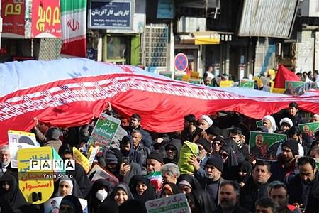 راهپیمایی 22 بهمن در قم |