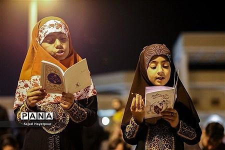 مراسم احیاء ویژه شب 19 ماه رمضان در حرم حضرت معصومه (س) |