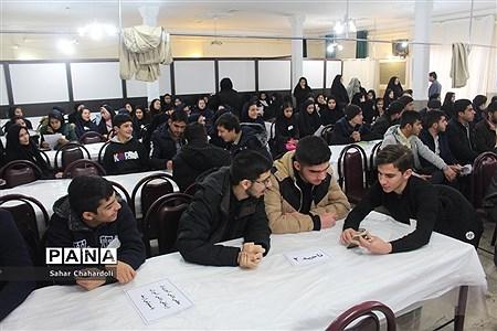 افتتاحیه دهمین دوره انتخابات مجلس و شورای دانش آموزی همدان |