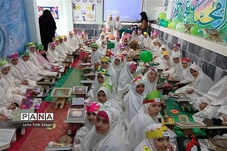 جشن قرآن دبستان دخترانه شاهد ٢ ملایر |