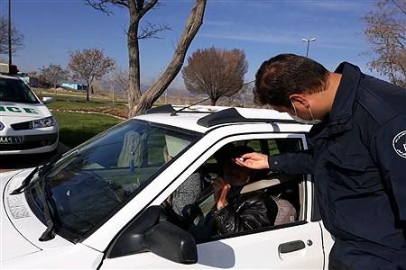 کنترل ورودیهای شهر زنجان | Fatemeh Rezaee